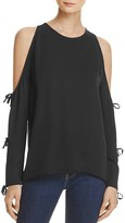 L'Academie The Tie-Sleeve Top