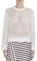 Carven Open Knit Sweater