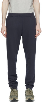 Sunspel Navy Loopback Lounge Pants