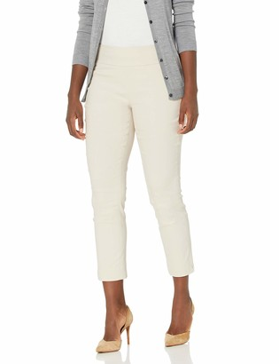 Nic+Zoe Women's Misses Crop Polished Wonderstretch