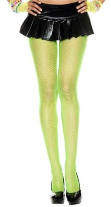 Music Legs Fishnet seamless pantyhose 9001-TURQUOISE