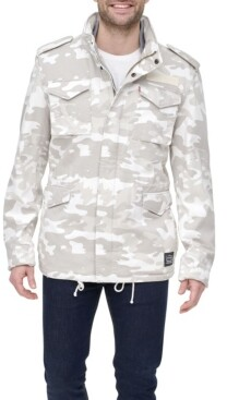 Levi's Men's Sherpa Lined Military-Inspired Jacket, Created for Macy's