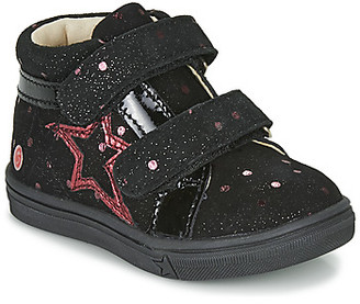 GBB OHANE girls's Shoes (High-top Trainers) in Black