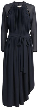 Chloé Asymmetric Midi Dress