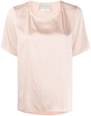 Forte Forte satin box-fit T-shirt