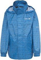 Trespass Childrens Unisex Totam Zip Up Packaway Waterproof Jacket