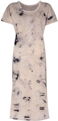 Mimi Prober tie-dye print T-shirt dress