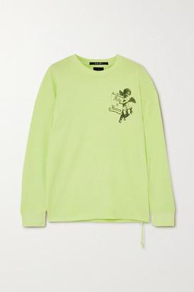 Ksubi Heaven Printed Cotton-jersey T-shirt - Yellow
