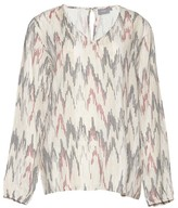 B.young Printed Long-Sleeved Blouse