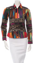 Etro Patterned Long Sleeve Button-Up