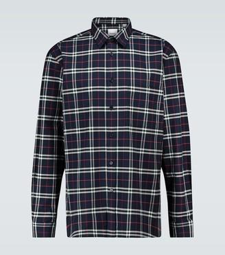 Burberry Simpson checked shirt