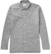 Oliver Spencer Loungewear - Brushed-cotton Pyjama Shirt - Gray