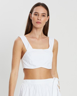 SIR the Label Delilah Crop Top