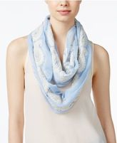 INC International Concepts Embroidered Infinity Scarf, Created for Macy's