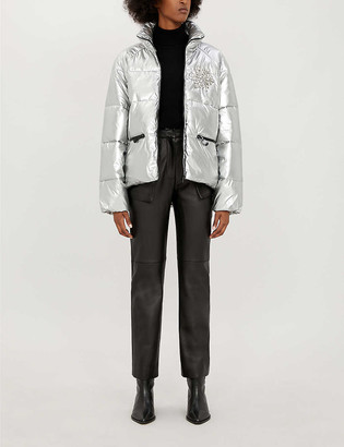 Pinko Tourcoing quilted shell jacket