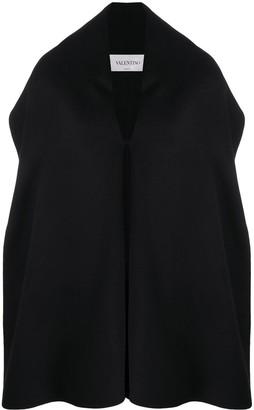 Valentino Draped Cashmere Coat