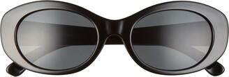 BP 51mm Retro Oval Sunglasses