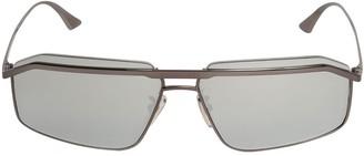 Balenciaga Bridge Navigator Metal Sunglasses
