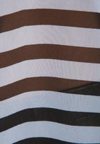 BB Dakota Kellyn Stripe CDC Tank in Black/Optic White
