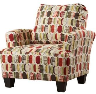 Mullins Armchair Latitude Run Upholstery: Energy Charm