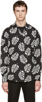 Dolce & Gabbana Black Leaf Shirt