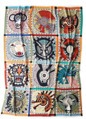 "Missoni Home Oroscopo Wool Gauze Throw Blanket, 55"" x 70"""
