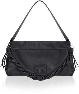 Givenchy ID93 Large Leather Shoulder Bag