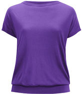 Ralph Lauren Woman Silk-Blend Cap-Sleeve Sweater