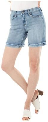 Liverpool Corine Fray Cuff Shorts (Amalfi) Women's Shorts