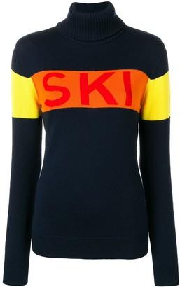 Perfect Moment Ski intarsia knit jumper