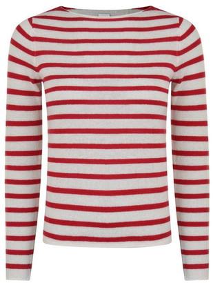BOSS Striped Cashmere Jumper