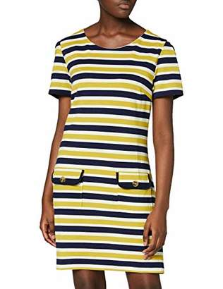 Yumi Knitted Stripe Pocket Detail Tunic