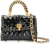 Ermanno Scervino molded shoulder bag - women - Polyester/Metal (Other) - One Size