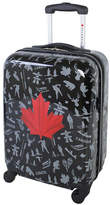 Atlantic Red Leaf 20-Inch Hardside Carry-On Spinner Luggage AL43469