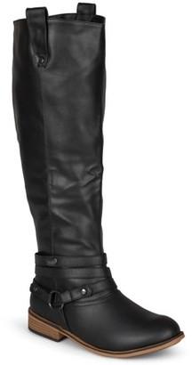 Brinley Co. Women's Mid-calf Riding Boots