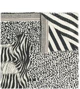 Pierre Louis Mascia Pierre-Louis Mascia zebra print scarf