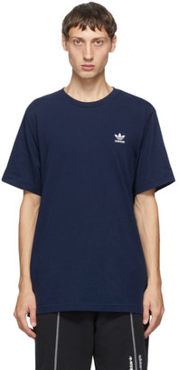 adidas Navy Trefoil Essentials T-Shirt