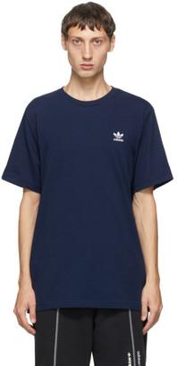 adidas Navy Trefoil Essentials T-Shirt