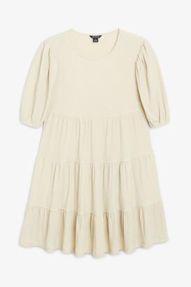 Monki Flounce layered dress