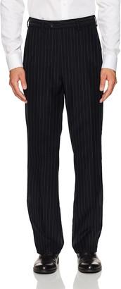 Steve Harvey Men's Chalk Stripe Regular Fit Suit Separate Pant