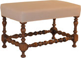 One Kings Lane Vintage 19th-C. French Upholstered Bench
