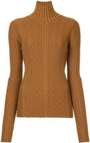 Le Ciel Bleu cable knit sweater