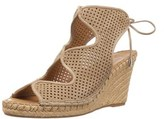 Franco Sarto Womens Nash Leather Open Toe Casual Platform Sandals.