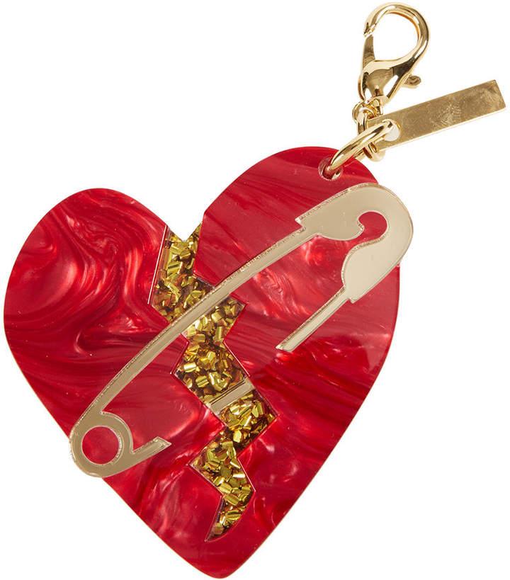 Edie Parker Broken Heart Bag Charm