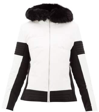 Fusalp - Gardena Iii Faux-fur Trim Ski Jacket - Womens - Cream