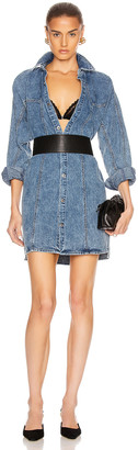 GRLFRND Kiko Studded Shirt Dress in Let You Go | FWRD