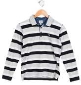 Armani Junior Boys' Striped Logo Shirt