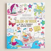 Unicorn Adventures Coloring Book