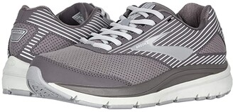 Brooks Addiction Walker Suede (Shark/Alloy/Oyster) Women's Walking Shoes