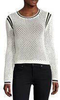 Helmut Lang Open-Knit Sweater